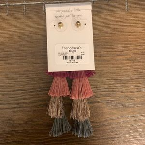 Francesca's Collections Jewelry - Francesca's tangle earrings